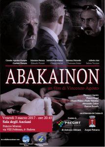 Cortometraggio Abakainon